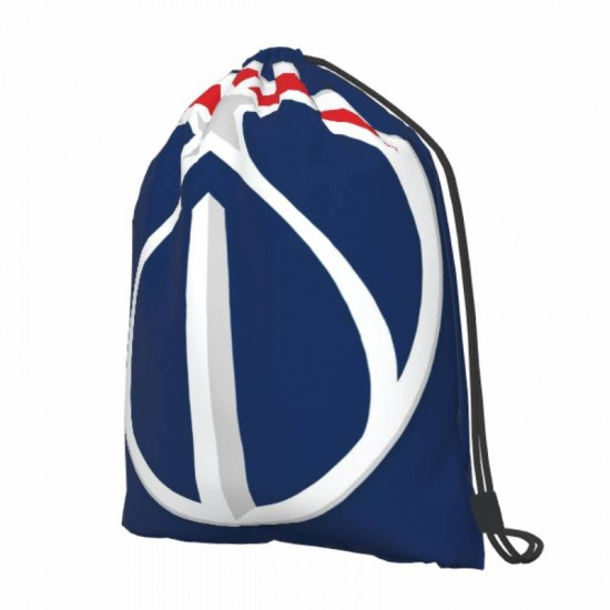 Two Size Washington Wizards Drawstring strap pack #287884 Great for Outdoor Sports & Storage
