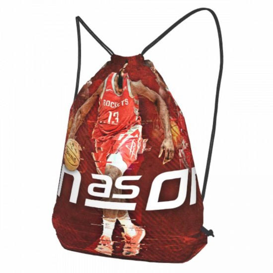 Casual Outdoor Houston Rockets Drawstring strap pack #283474 for Women and Men