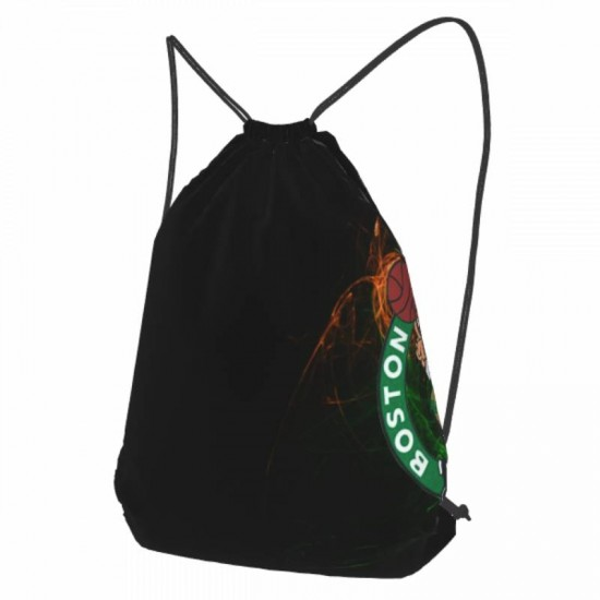 Casual Outdoor Boston Celtics Drawstring strap pack #301754 for Women and Men