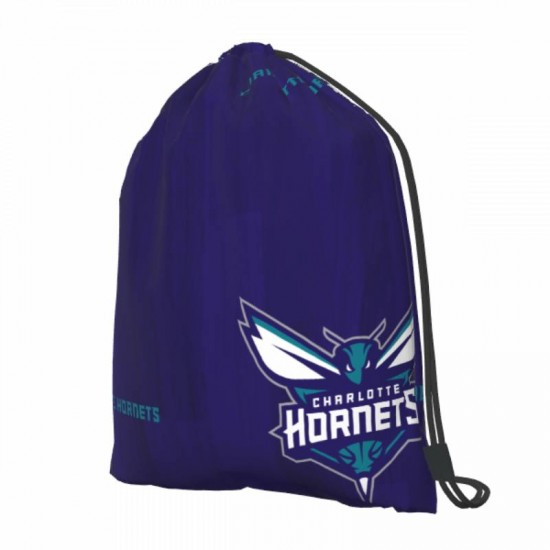Casual Outdoor Charlotte Hornets Drawstring strap pack #291012 for Women and Men