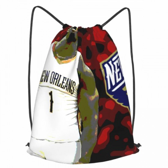 Casual Outdoor New Orleans Pelicans Drawstring strap pack #283028 for Women and Men